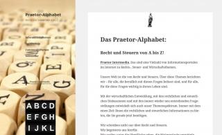 Praetor-Alphabet