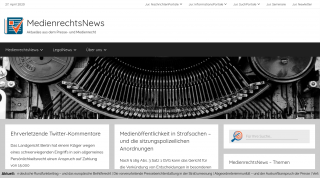 MedienrechtsNews