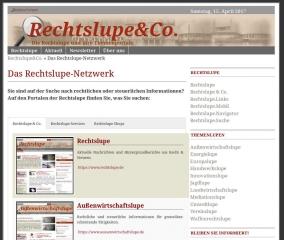 Rechtslupe &Co.