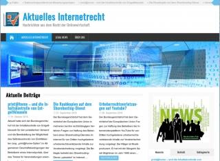 Aktuelles Internetrecht